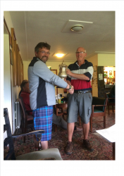 Steve Evans - Centenary Cup Winner 2017