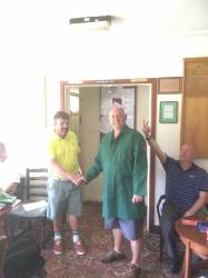 Andrew (Butch) Evans - Mervyn Morgan Putter Winner 2017